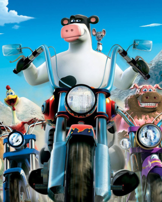 Kostenloses Barnyard The Original Party Wallpaper für iPhone 5C