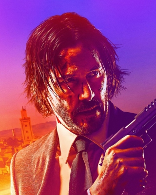 John Wick Chapter 3 Parabellum Wallpaper for 240x320
