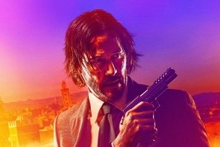 John Wick Chapter 3 Parabellum Background for Nokia X2-01