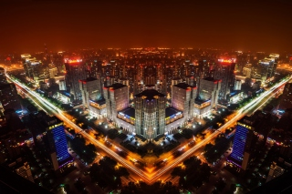 Free Beijing Panorama In China Picture for Android, iPhone and iPad