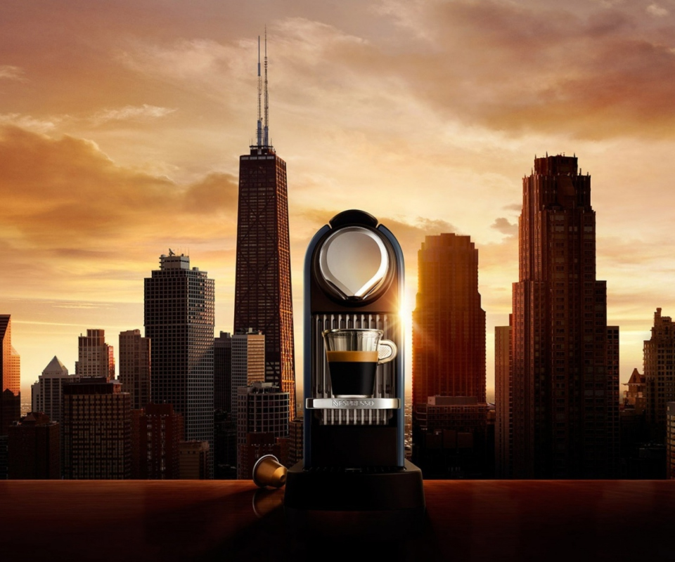 Screenshot №1 pro téma Nespresso Morning Coffee In Chicago 960x800