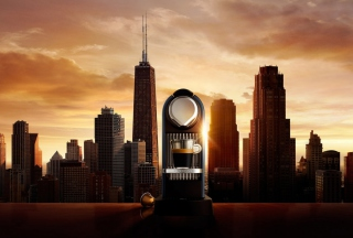 Nespresso Morning Coffee In Chicago Background for Android, iPhone and iPad