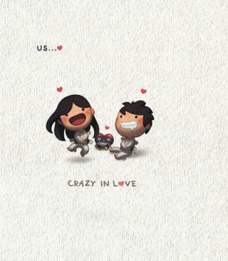 Love Is - Crazy In Love papel de parede para celular para Nokia C-Series