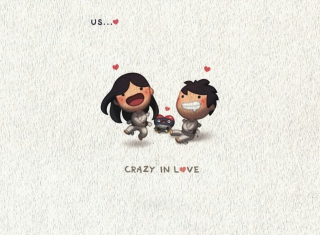 Love Is - Crazy In Love Wallpaper for Android, iPhone and iPad