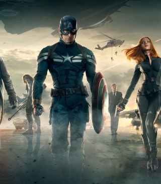 Captain America The Winter Soldier Movie - Fondos de pantalla gratis para Nokia C1-01