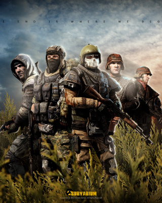Survarium free online Shooter Background for Nokia C1-01