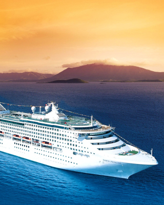 Dawn Princess in South Pacific Wallpaper for HTC Titan