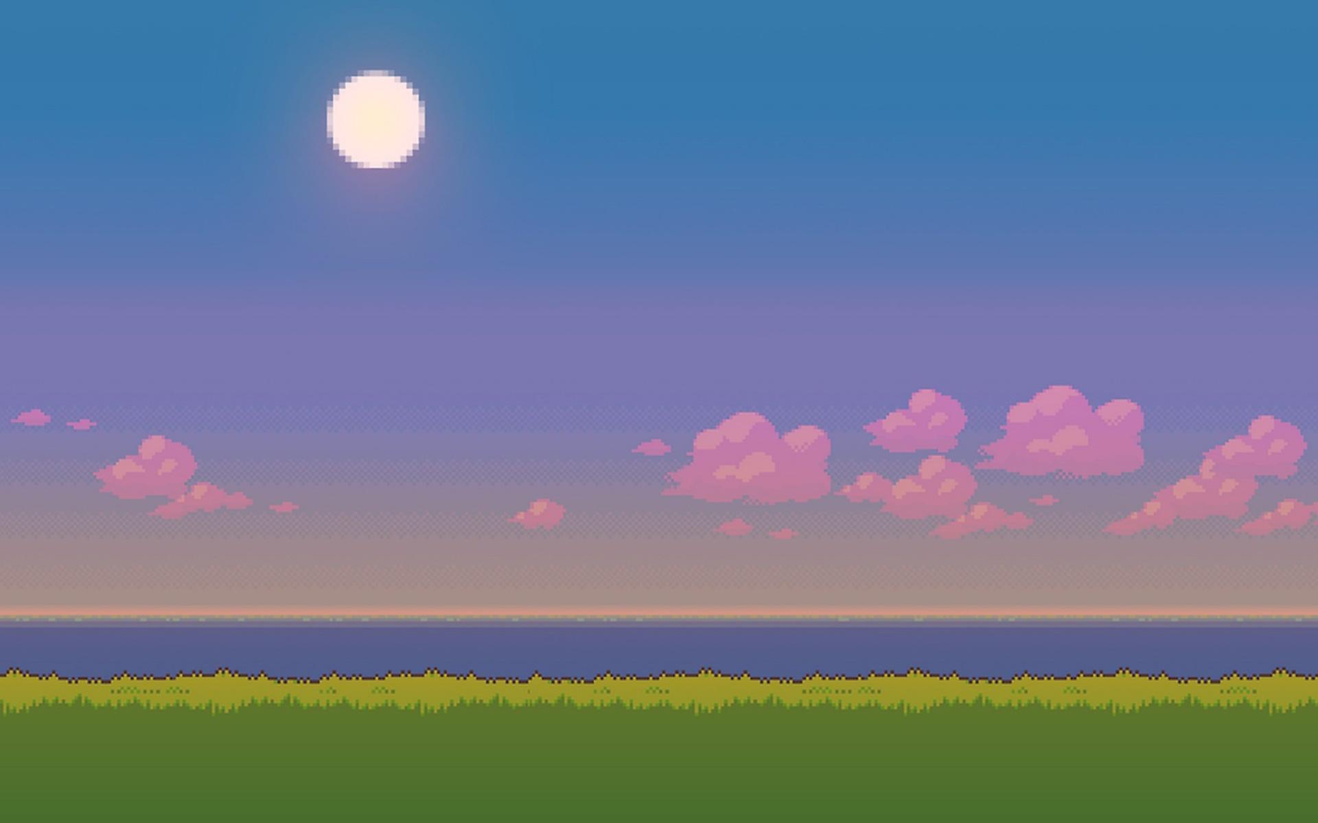 Pixel Art Wallpaper for 1920x1200
