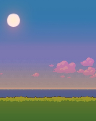 Pixel Art Wallpaper for Nokia C1-01