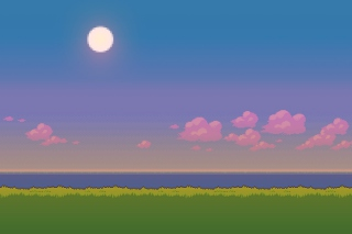 Free Pixel Art Picture for Widescreen Desktop PC 1440x900