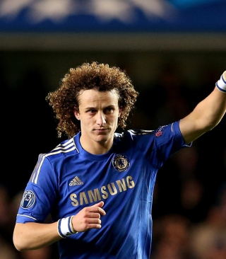 David Luiz - Chelsea Wallpaper for Nokia Asha 305