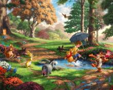 Winnie The Pooh And Friends para 220x176