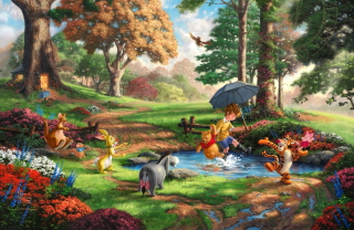 Free Winnie The Pooh And Friends Picture for Android, iPhone and iPad