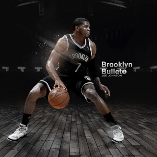 Joe Johnson from Brooklyn Nets NBA sfondi gratuiti per 1024x1024