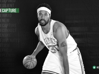 Rasheed Wallace - Boston Celtics Background for 1920x1080