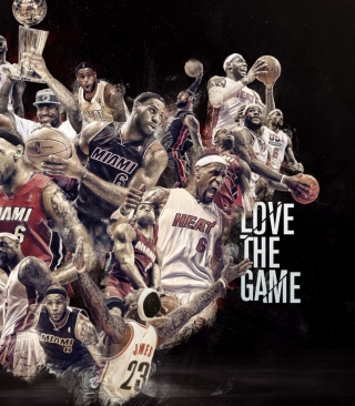 NBA, Basketball, Miami Wallpaper for Nokia C5-03