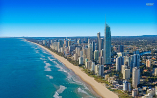 Gold Coast Australia sfondi gratuiti per cellulari Android, iPhone, iPad e desktop