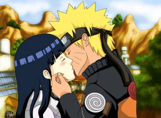 Naruto Anime - Kiss Wallpaper for Android, iPhone and iPad