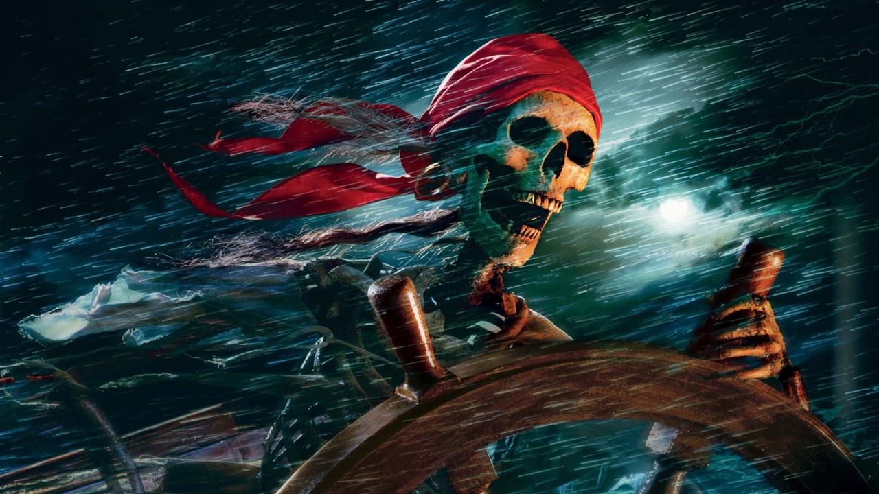Sea Pirate Skull