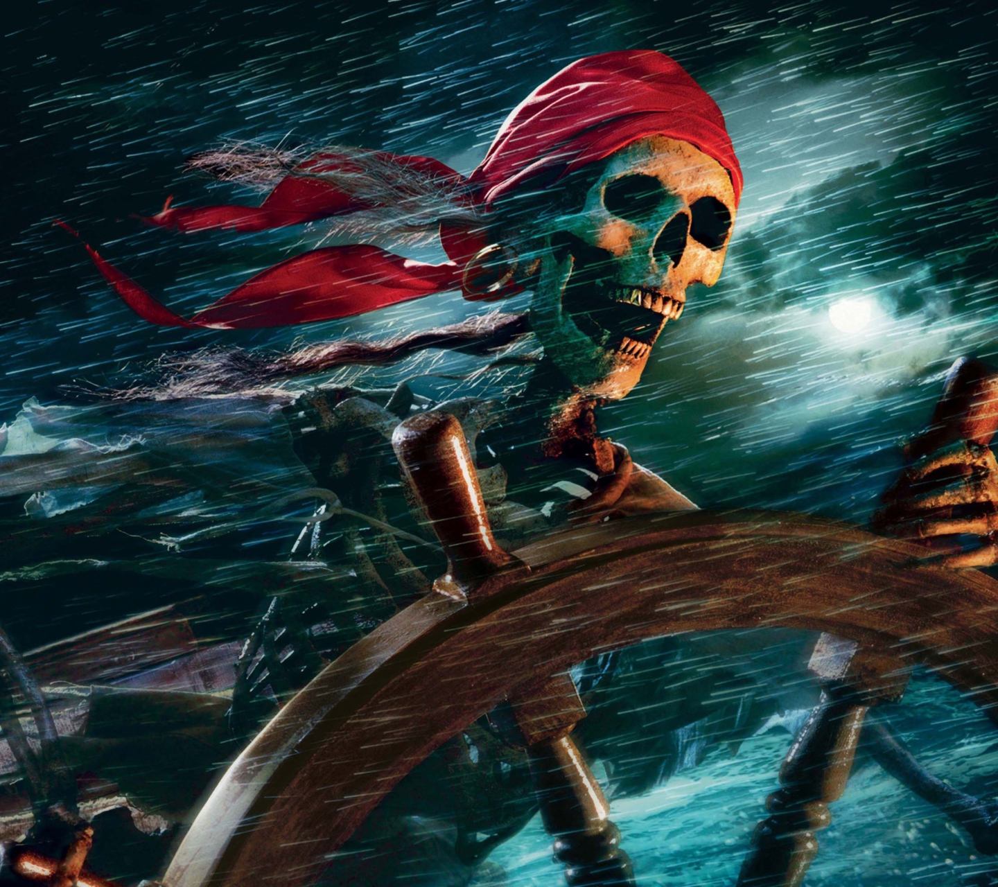 Sfondi Sea Pirate Skull 1440x1280