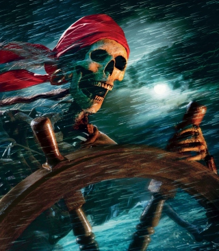 Free Sea Pirate Skull Picture for Nokia C5-06