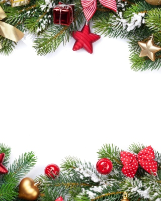 Festival decorate a christmas tree Picture for 176x220