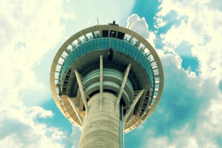 Free Sky Tower Auckland New Zealand Picture for Android, iPhone and iPad