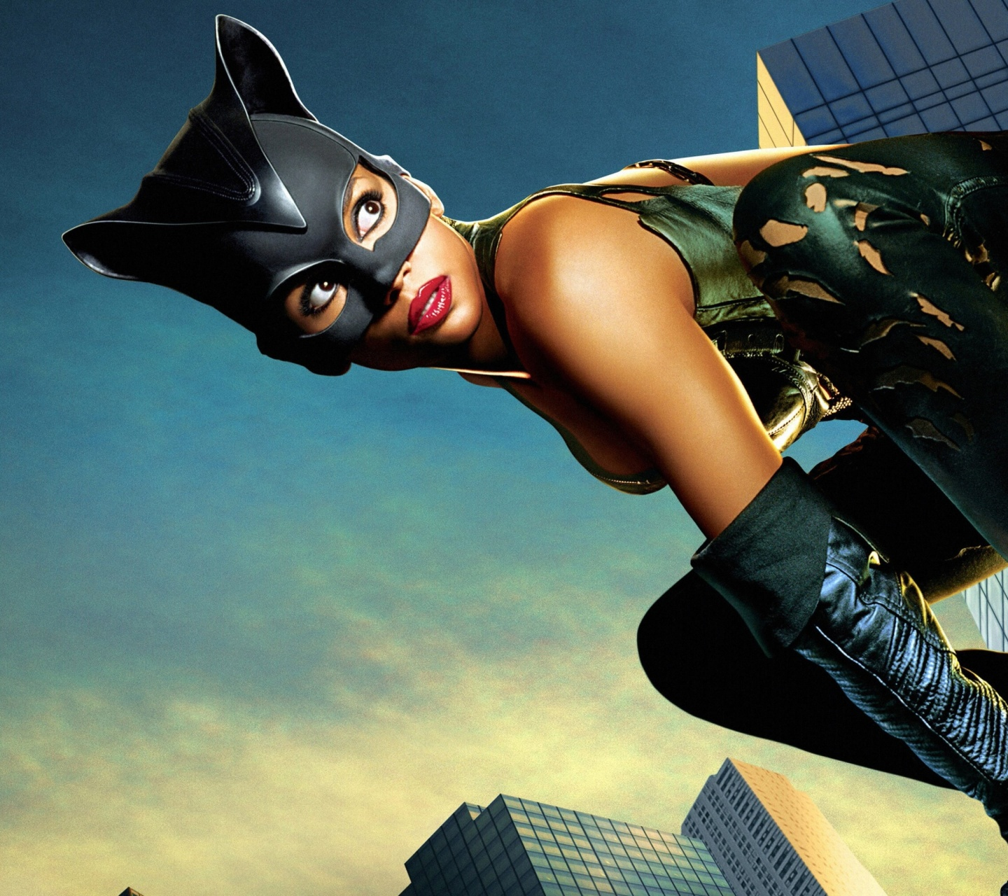 Das Catwoman Halle Berry Wallpaper 1440x1280