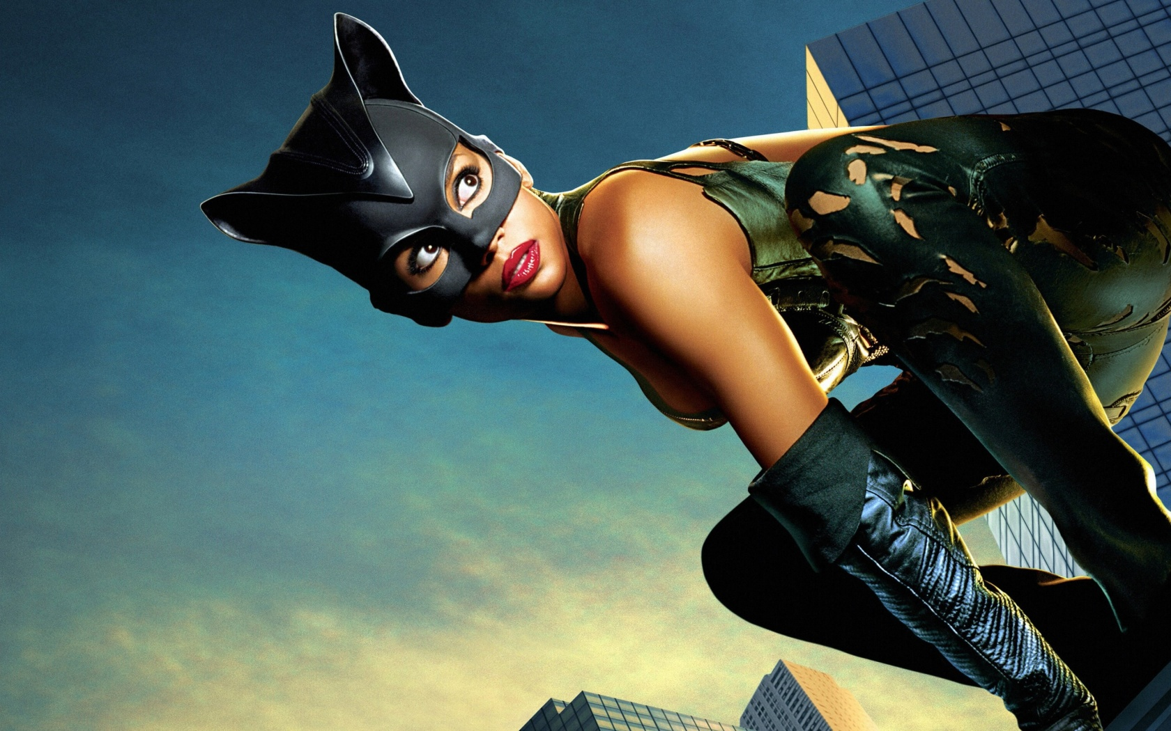 Screenshot №1 pro téma Catwoman Halle Berry 1680x1050