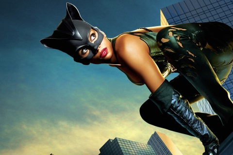 Screenshot №1 pro téma Catwoman Halle Berry 480x320