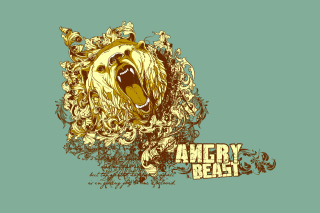 Angry Beast Background for Android, iPhone and iPad