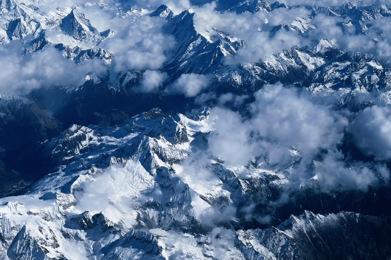 горы снег высота бесплатно