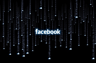 Facebook Matrix Background for Android, iPhone and iPad