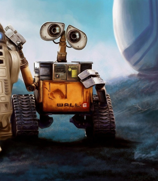 Cute Wall-E Wallpaper for 240x320