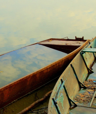 Fishing Boats Wallpaper for Nokia Asha 306