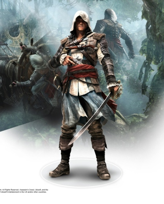 Assassins Creed Black Flag Game sfondi gratuiti per 480x800