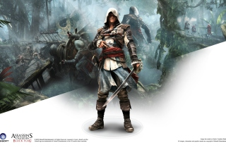 Assassins Creed Black Flag Game - Obrázkek zdarma pro Samsung Google Nexus S 4G