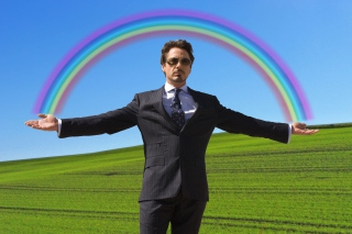 Robert Downey Jr Background for Android, iPhone and iPad