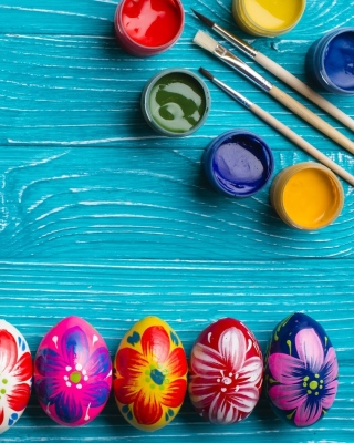 Decoration Easter Wallpaper for iPhone 6 Plus