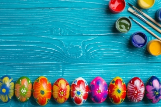 Decoration Easter Background for Android, iPhone and iPad