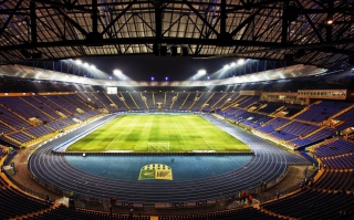Metalist Stadium From Ukraine For Euro 2012 sfondi gratuiti per cellulari Android, iPhone, iPad e desktop