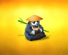 Funny Panda Illustration para 220x176