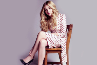 Cute Chloe Moretz Wallpaper for Android, iPhone and iPad