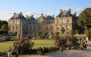 Luxembourg Palace Picture for Android, iPhone and iPad