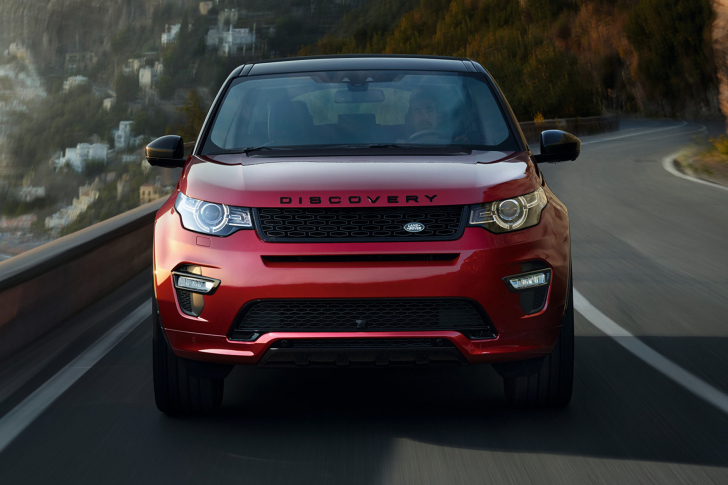 Screenshot №1 pro téma Land Rover Discovery Sport HSE