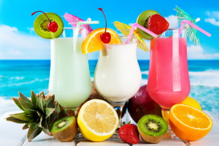 Summer Drinks Wallpaper for Android, iPhone and iPad