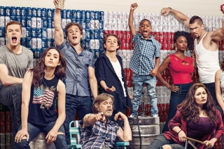 Shameless 9 Season with Gallagher Family sfondi gratuiti per Samsung Galaxy Note 2 N7100