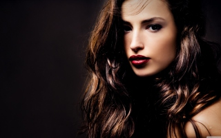 Beautiful Brunette Wallpaper for Android, iPhone and iPad