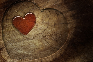 Wooden Heart sfondi gratuiti per cellulari Android, iPhone, iPad e desktop