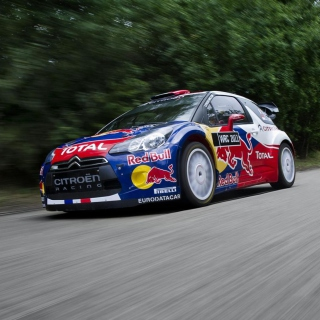 Citroen DS3 WRC sfondi gratuiti per iPad mini